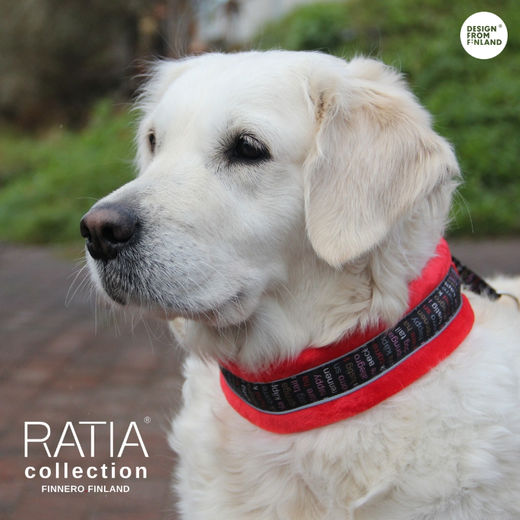 RATIA soft collar red