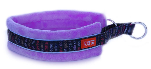 RATIA Soft collar purple