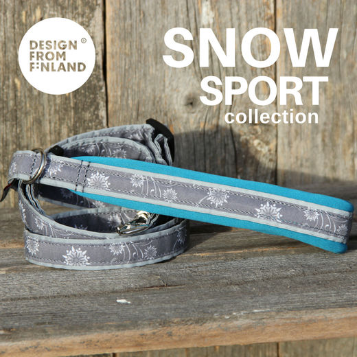 SNOW SPORT adjustable leash turquoise