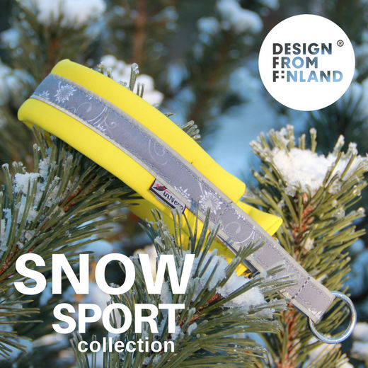 SNOW SPORT collar yellow