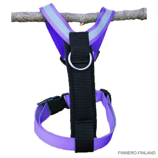 Finnero's Salon harness violett