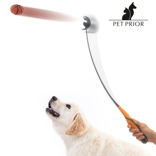 Pet Prior Ball Launcher with erconomic handle