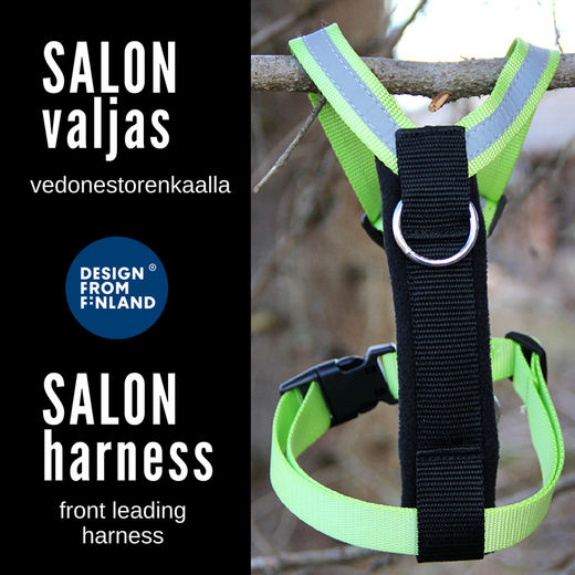 SALON harness apple green